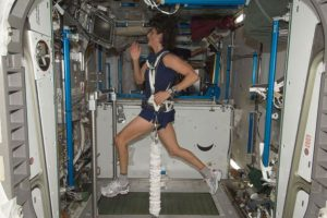 Sunita Williams Marathon in Space