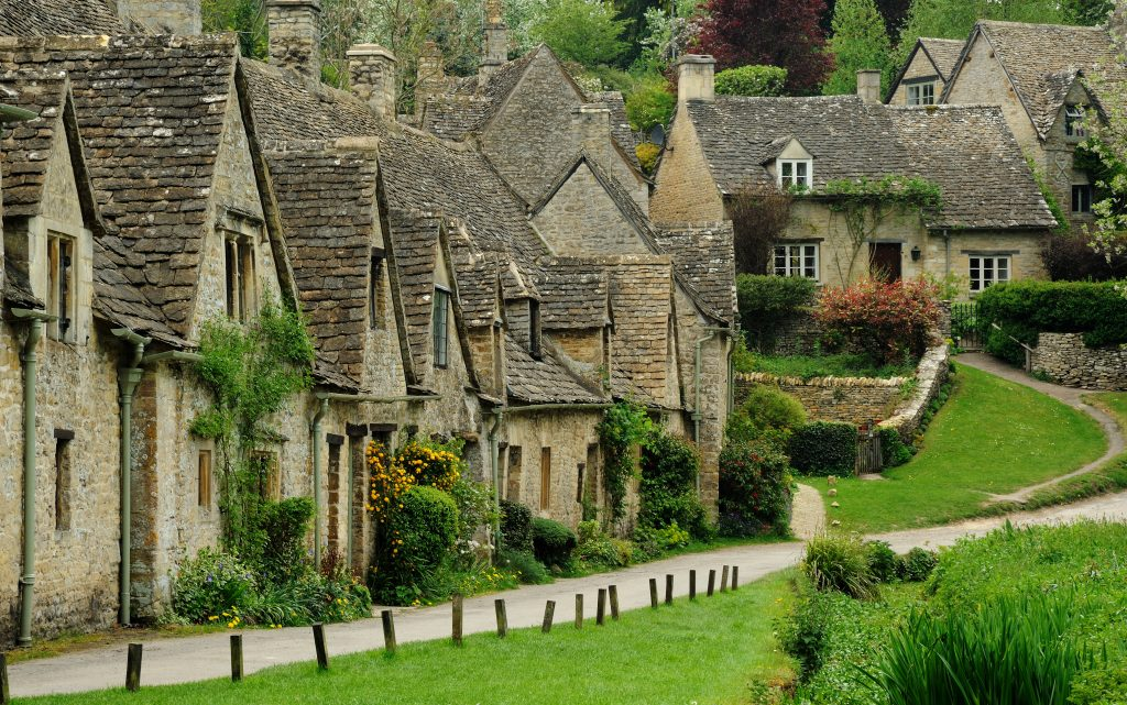 Fairytale Villages -Bibury, England