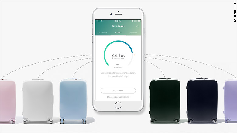 Raden smart luggage