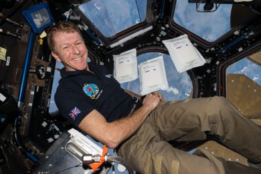 tim peake marathon in space