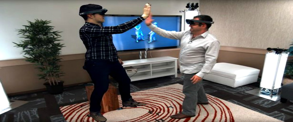 Microsoft Holoportation with HoloLens