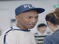 Pharrell Williams Visits Chanel
